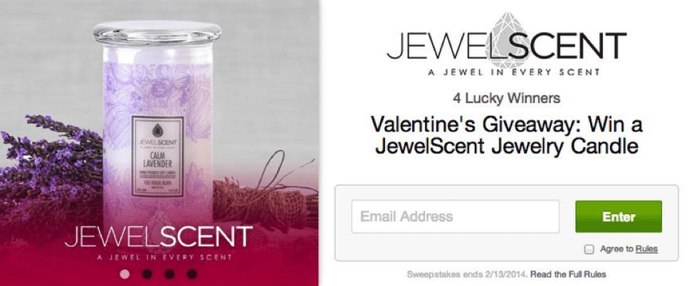 JewelScent free giveaway