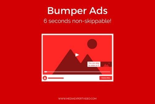 non-skippable youtube bumper ad