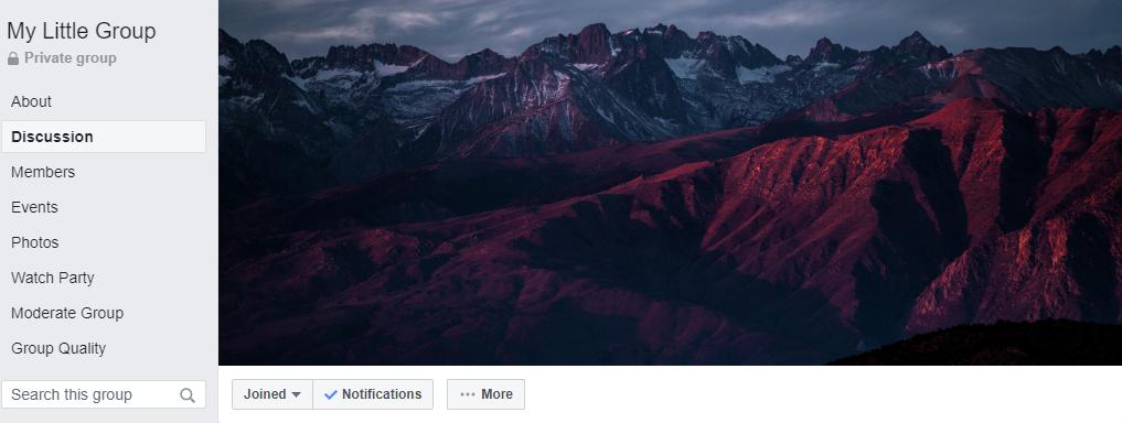 Facebook group alternatives are more customizable