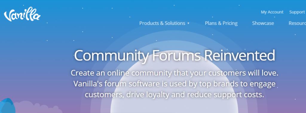 Is Vanilla Forums the best forum software