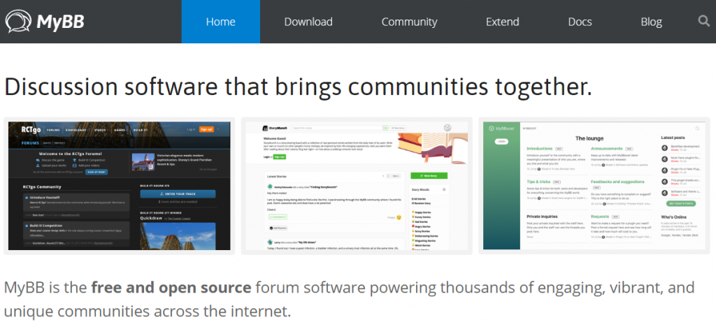 Is MyBB the best forum software