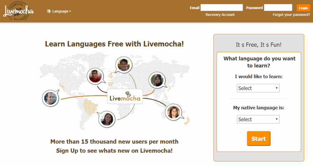 Types of communities - Livemocha